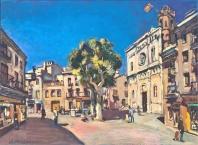 Plaza de Santa María Mataró