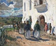 Procesión en Ibiza