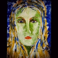 Abstracción del rostro Humano (Rosario en el Mar) #38p
