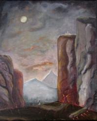 St. Selenia at the gates of purgatory