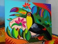 Tucano bico verde
