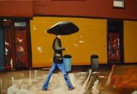 Un dia de lluvia