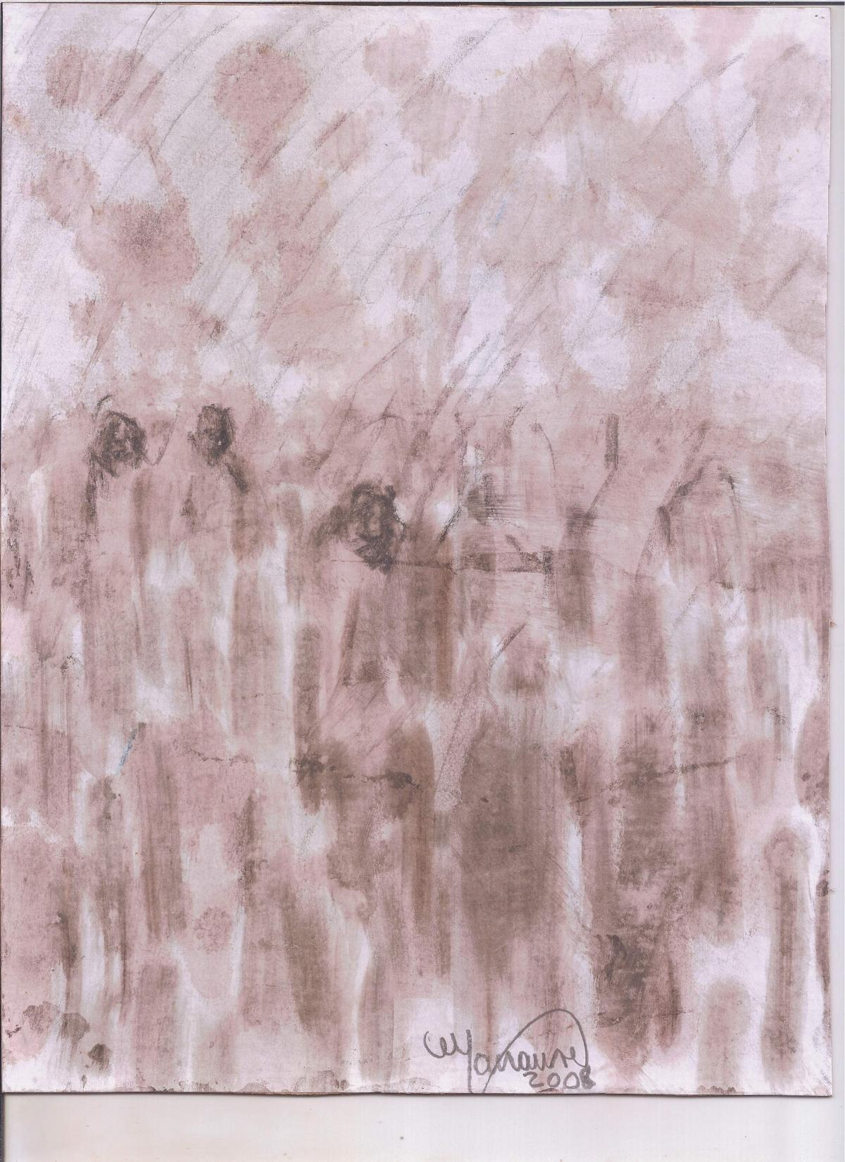 Abstracción de la Figura Humana (Opus Dei) #4