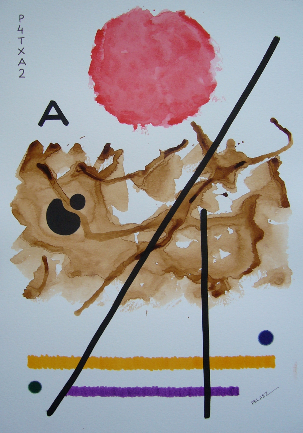 ABSTRACT PAINTING-A
