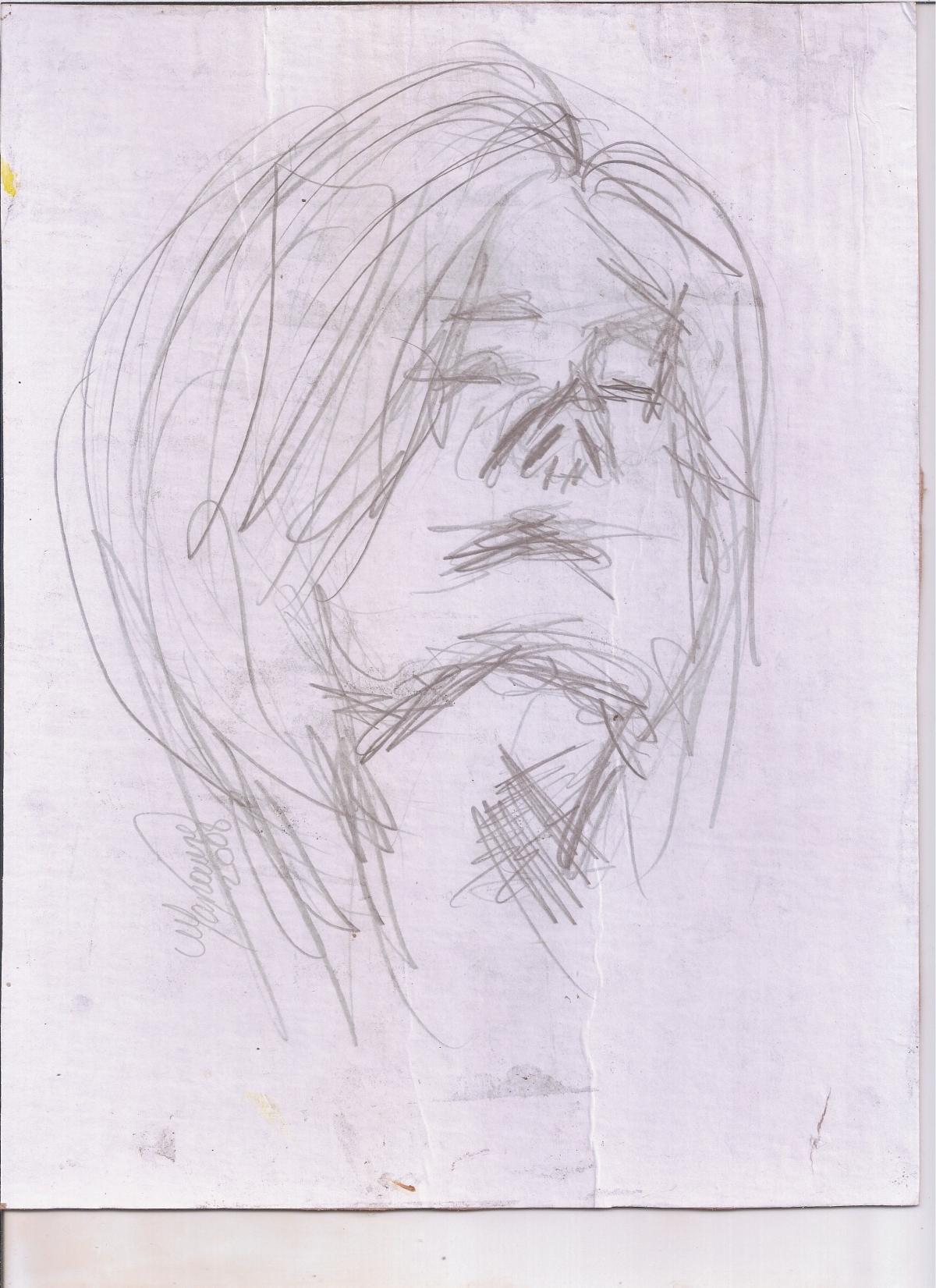 Abstracción del rostro Humano #30