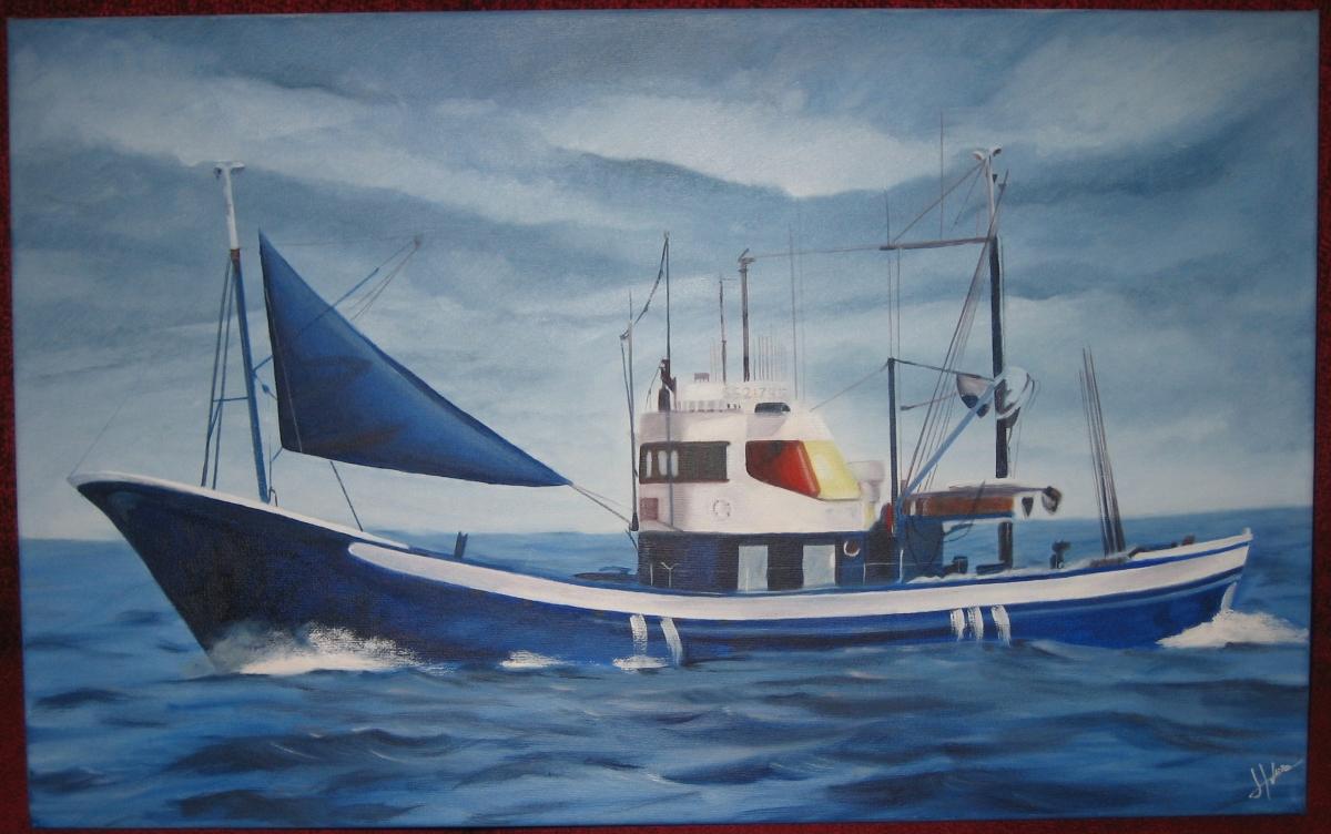 Barco pesquero.