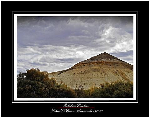 El cerro avanzado