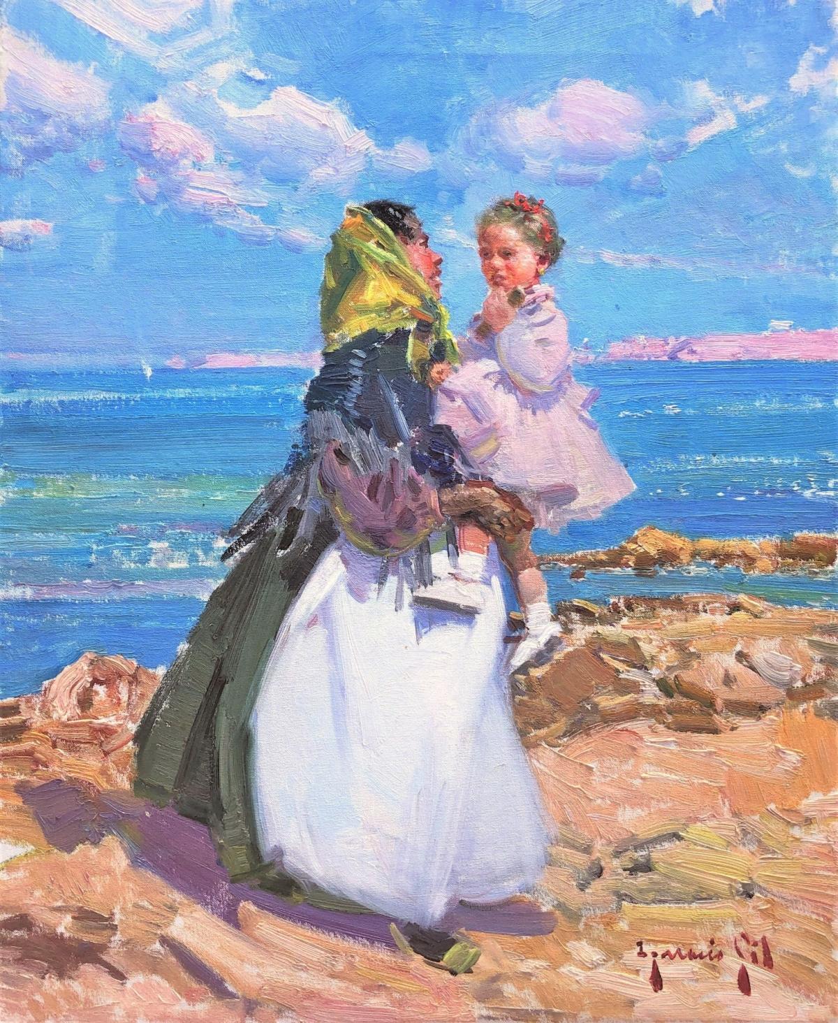 Maternidad playa de Ibiza