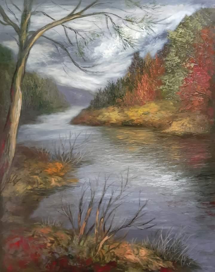 Paisaje y un rio