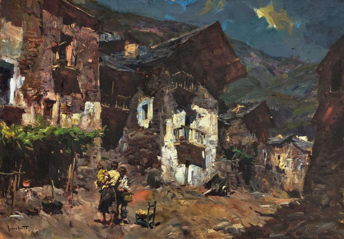 Pueblo catalán