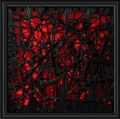 Rojo negro julian aragoneses pintura contempor nea for Cuarto negro y rojo