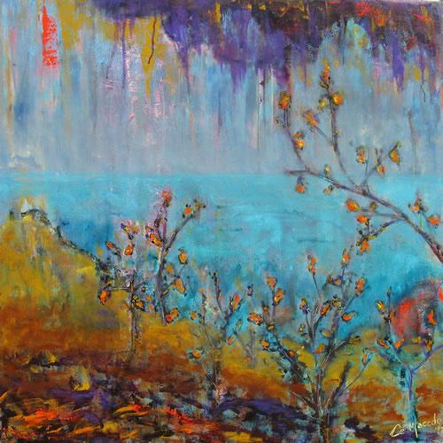 serbal de cazadores cecilia macedo rivera pintura