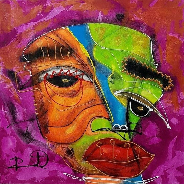 Resultado de imagen para pintura de  Dennys Santos